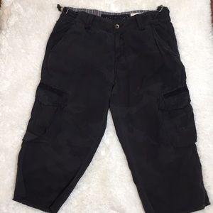 Da-Nang Camo Cargo Capri Outdoor Pants